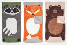 Kinderboo - How Do You Zoo Sleeping Bags from The Land of Nod