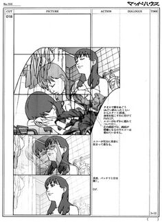 Storyboards illustrated by Satoshi Kon for the animated short Ohayo (オハヨウ) Animation Storyboard, Animation Reference, Art Reference, Satoshi Kon, Comic Layout, Color Script, Perspective Art, Animation Tutorial, Cool Animations