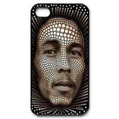 *Bob Marley* Crazy touch case cover. More fantastic pictures and videos of *Bob Marley* on: https://de.pinterest.com/ReggaeHeart/