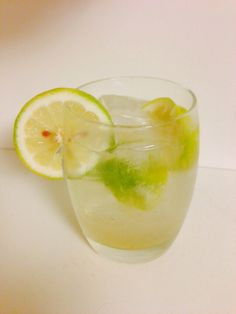 Hendrick's Rickey - 2oz. Gin, juice of half a lime, dash maple syrup, top with soda