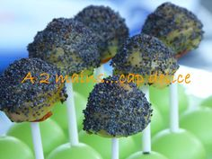 CAKE POP AU FROMAGE TOMATE