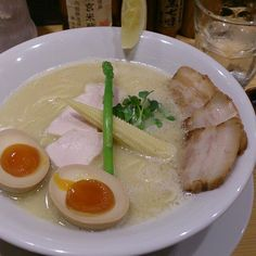 "You can eat delicious japanese noodle at ""Kagari"" in Tokyo!"