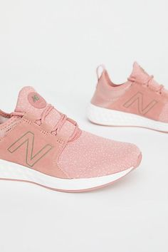 Excuse Us While We Freak Out Over These New Balance Sneakers — They're Millennial Pink!