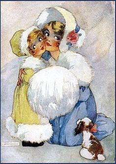 vintage postcard - Agnes Richardson