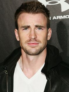 Chris Evans - always liked him but now he's my number 1 crush after I saw Captain America The First Avenger! Move over Adam Levine!  Rawrrr!