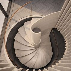 38 Luxury Spiral Staircase Suggestions built to Impress is part of architecture - Perhaps you might be thinking these luxury spiral staircase ideas might be pricey, but sometimes great ideas can become real within a realistic budget Staircase Railings, Spiral Staircase, Staircase Design, Stairways, Spiral Stairs Design, Staircase Ideas, Stairs Architecture, Architecture Details, Interior Architecture