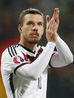 Last Germany call-up for Lukas Podolski, 1st for Timo Werner