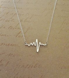 Cute Heartbeat Necklace