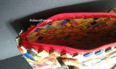 Stor taske, lavet af LIPTON tebreve