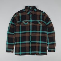 Patagonia Fjord Flannel Shirt - Cornstock: Alpaca Brown | Flatspot