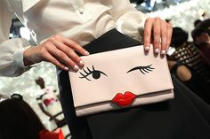 #KateSpace #NYFW #Accessories #Cute #Clutch #Fashion