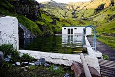 Directions to the oldest swimming pool in Iceland, Seljavallalaug.