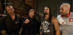 Randy, Dean, Roman, and Cesaro 4 of the hottest wrestlers in wrestling right now