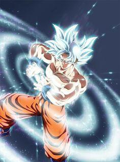 Goku mastered ultra instinct by Spaceweaver Dragon Ball Gt, Akira, Wallpaper Animé, Goku Y Vegeta, Dragon Super, Z Warriors, Manga Anime, Anime Art, Fanart