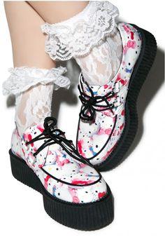 7bc2a0b15474b T.U.K Hello Kitty Pretty Kitties Creepers Hello Kitty Shoes