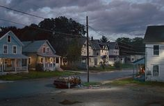 Awesome - Edward Hopper inspired photographer: Wow! This is the kind of scene  I browse through a hundred pictures to find. It's dripping with mystery! Note by Roger Carrier