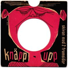 Design: Knäpp-upp 45 record cover Illustrated by Nisse Buske. Cool Album Covers, Music Covers, Cd Cover, Cover Art, People Illustration, Illustrations, Graphic Illustration, Art Design, Cover Design