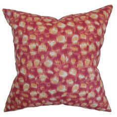 The Pillow Collection Imperatriz Throw Pillow Color: