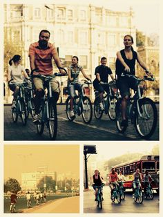 Hop on this cycling tour in Mumbai and paddle across the streets of India's most rushing metropolis before it wakes up? This eco-friendly bicycle tour of the city lets you discover what exciting Mumbai has to offer on half-day tour of the city's famous sights. The tour is perfectly begins in the calm and cool weather of the early morning. This is Mumbai as you have never seen; sleeping bodies dot the pathways that many rush during the day as some devotees rush to the temple to perform puja… Cycling Tours, Commuter Bike, In Mumbai, Day Tours, Walking Tour, Early Morning, Pathways, How To Do Yoga, Paddle