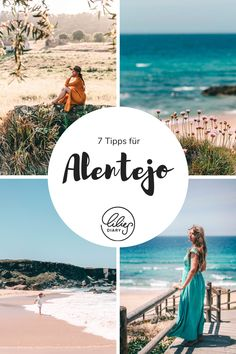 tipps Alentejo Portugal Portugal, Am Meer, Strand, Travel Guides, Movie Posters, Movies, Cliff Diving, Atlantic Ocean, Beautiful Hotels