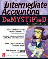 Intermediate accounting demystified / by Geri B. Wink, Laurie Corradino.
