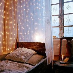 I am in love with fairy lights; shame on me for not stocking up in post Christmas sales last year.