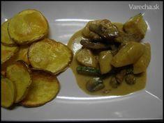 Sojové nudličky s ananasem, cuketou, žampiony - recept   Varecha.sk Veggies, Beef, Food, Pineapple, Meat, Vegetable Recipes, Vegetables, Essen, Meals