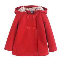 Looking for Happy Cherry Girls Hooded Coat Kids Woolen Overcoat Winter Double-Breasted Warm Jacket ? Check out our picks for the Happy Cherry Girls Hooded Coat Kids Woolen Overcoat Winter Double-Breasted Warm Jacket from the popular stores - all in one. How To Wear Shirt, Woolen Clothes, Hooded Dress, Kids Coats, Matching Family Outfits, Double Breasted Coat, Girls Sweaters, Girl Outfits, Baby Girls