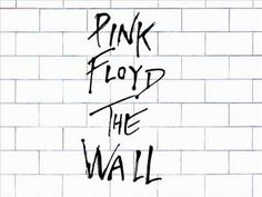"""The Wall is the eleventh album by Pink Floyd. Released as a double album on 30 November 1979 """"In the Flesh?"""" Waters """"The Thin Ice"""" Gilmour, Waters. Trip Hop, Pink Floyd Comfortably Numb, Film Mythique, Famous Album Covers, Pink Floyd Albums, The Dark Side, Brick In The Wall, Concept Album, Pochette Album"""