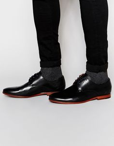Image 1 of ALDO Hermosthere Leather Derby Shoes
