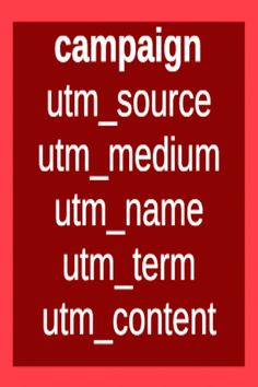 UTM[Urchin Tracking Module] parameters are five forms of URL parameters used to track the success of online marketing campaigns across traffic sources and publishing media. They were introduced by Google Analytics' predecessor Urchin and,  are supported out-of-the-box by Google Analytics. [Source-Wikipedia.] Web Analytics, Google Analytics, Online Marketing, Campaign, Track, Success, Box, Snare Drum, Runway