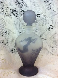 Rare Vintage JBD Perfume Bottle by beverlyjewelry on Etsy, $79.00