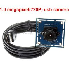 Omnivision 6 мм объектива 1mp 720 P driver free usb cmos модуль камеры эндоскопа