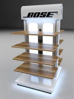 Bose Island Mall Display by Silvino, Jr. Vasquez at Coroflot.com