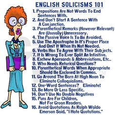 Lol - stuff it, I'm guilty of some of these, I admit it. I write as if I'm speaking to you. Get over it. At least most of my grammar is correct!