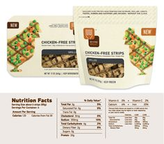 We reviewed #BeyondMeat Chicken-Free Strips, a #vegetarian and #vegan meat substitute product.