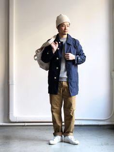 Brooklyn Street Style, Japanese Streetwear, Outfit Grid, Estilo Retro, Designer Clothes For Men, Men's Coats And Jackets, Japanese Outfits, Men's Wardrobe, Men Street