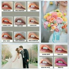 What color will you wear for a Spring or Summer wedding!www.facebook.com/groups/LipswithSense lipswithsense@gmail.com
