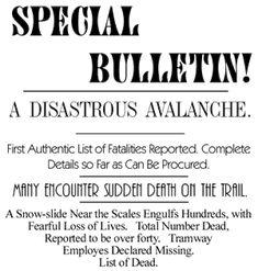 Newspaper Headlines, Alaska, Trail, Hunting, King, Reading, Headline News, The Reader, Deer Hunting