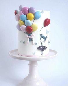"""Gefällt 3,565 Mal, 53 Kommentare - BLOG FESTEJAR COM AMOR (@festejarcomamor) auf Instagram: """"Coisa mais linda essa inspiração de bolo que vi no @ideiasdebolosefestas. Achei fofo e super…"""""""