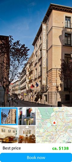Catalonia las Cortes (Madrid, Spain) – Book this hotel at the cheapest price on sefibo.