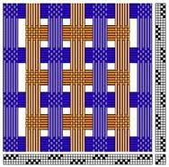 Image result for 4 shaft deflected double weave