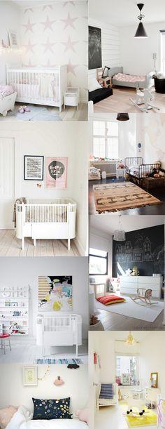 Baby Nursery: Pink, Black and White Baby Nursery - So Simple and Striking