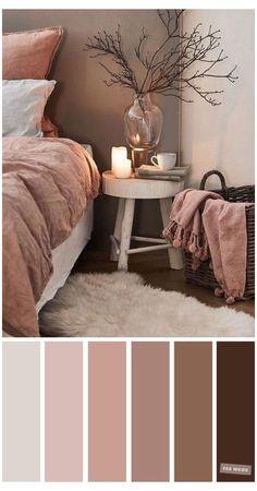 Bedroom Colour Schemes Neutral, Bedroom Colour Palette, Brown Color Schemes, Living Room Color Schemes, Color Schemes For Bedrooms, Interior Design Color Schemes, Color Schemes Colour Palettes, Modern Color Schemes, Room Paint Colors