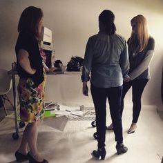 Prepping for June's Good Life opener! #tulsa #printmedia #studio #photography #editorial