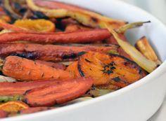Recipe: Orange Roasted Carrots & Parsnips