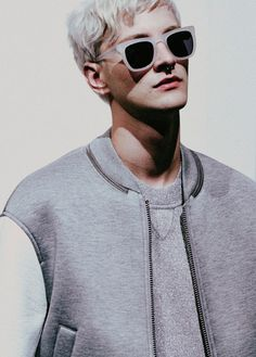 eleven-three: justdropithere: Benjamin Jarvis by Harry Carr - Backstage at Neil Barrett —- Fashion Line, Grey Fashion, Mens Fashion, Ivan Bubalo, Mens Activewear, Men Formal, Male Models, Active Wear, Streetwear
