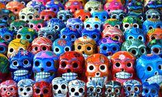 Painted skulls (Drea