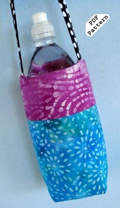 Sewing Pattern for Water Bottle Covers - PDF Pattern