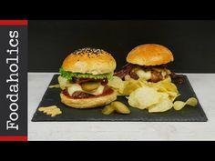Απολαυστικό μπέργκερ με σπιτικό ψωμάκι | Foodaholics - YouTube